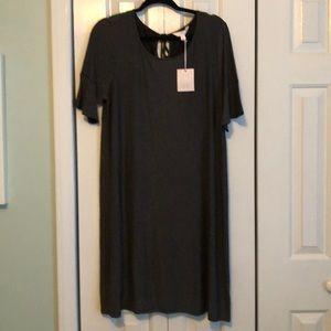 NWT Lauren Conrad dress black & white